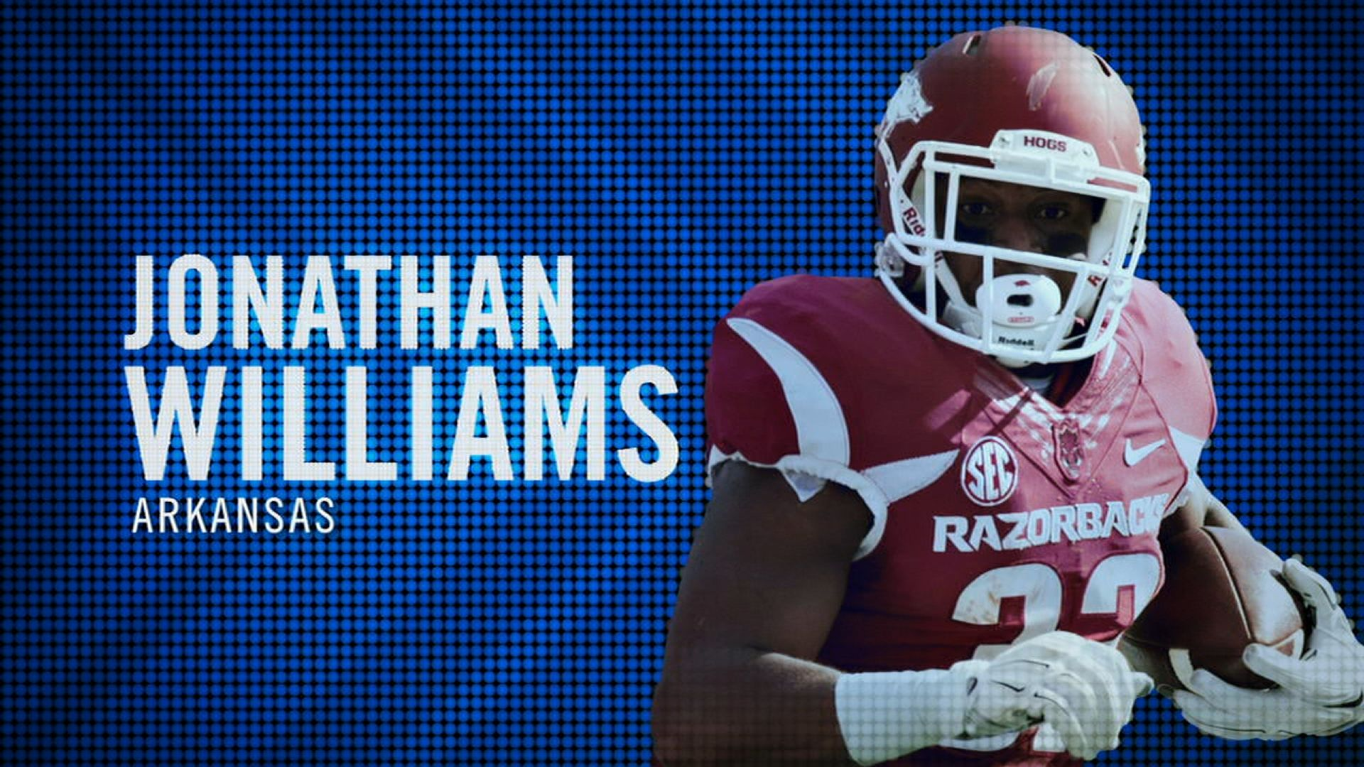 I am the SEC: Arkansas' Jonathan Williams