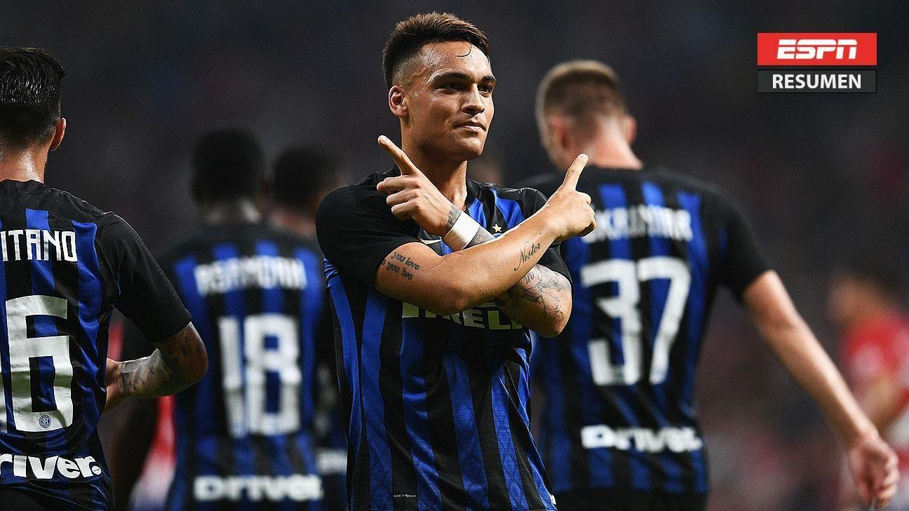 Golazo de Lautaro Martínez da la victoria al Inter
