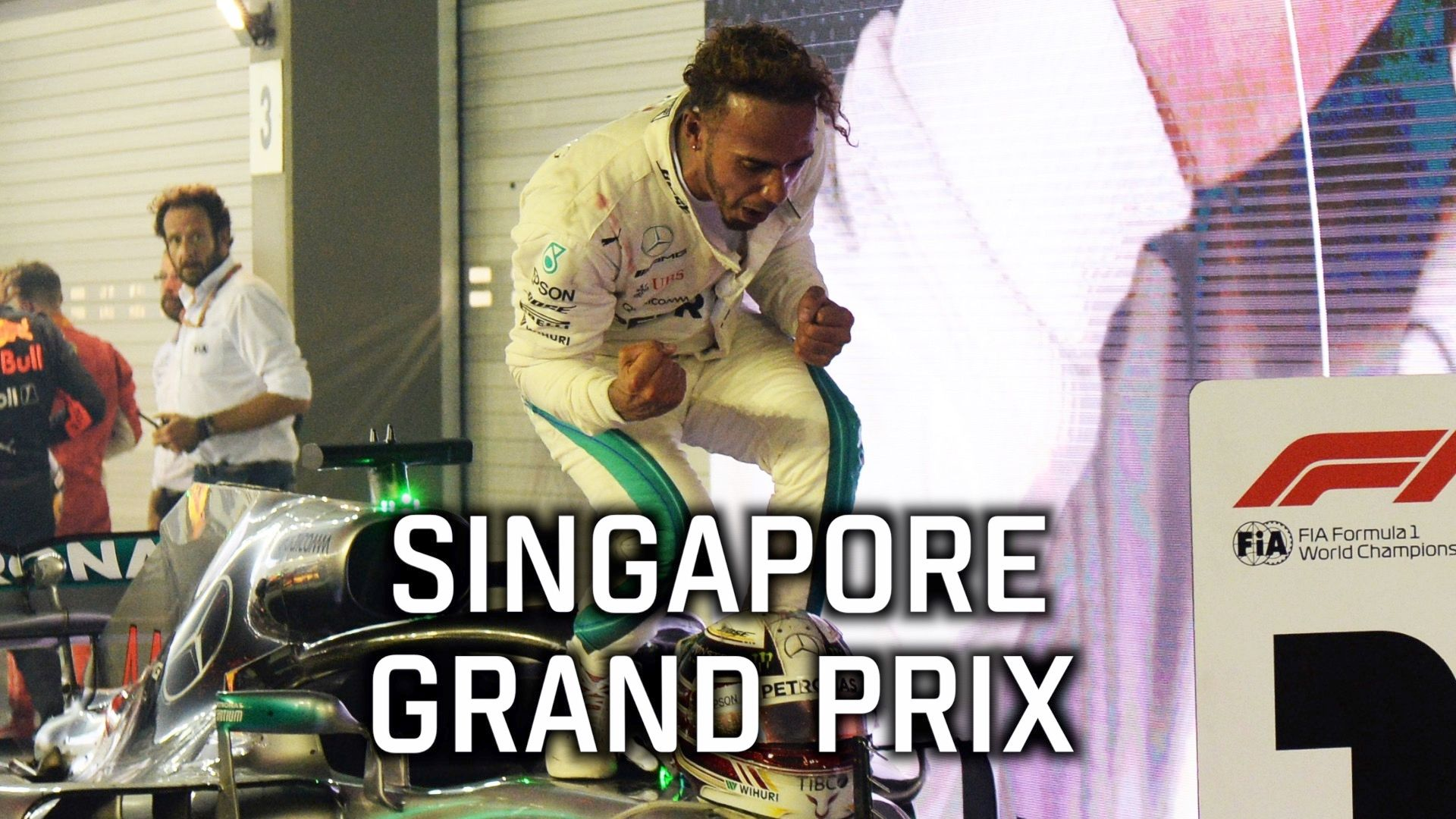 Social story of the Singapore Grand Prix