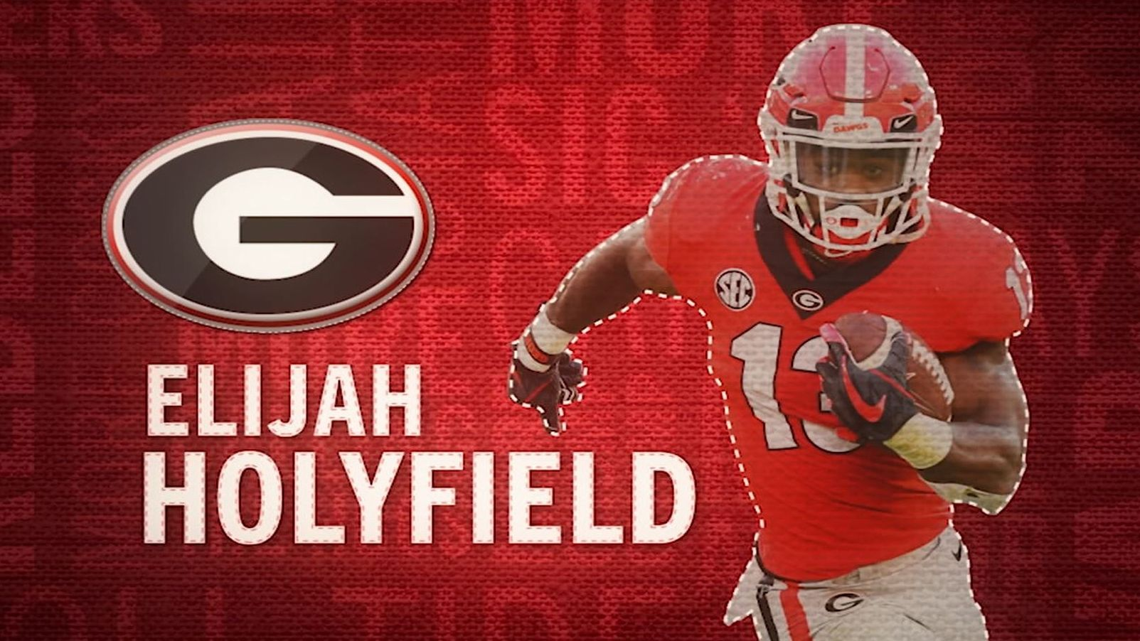 I am the SEC: Georgia's Elijah Holyfield