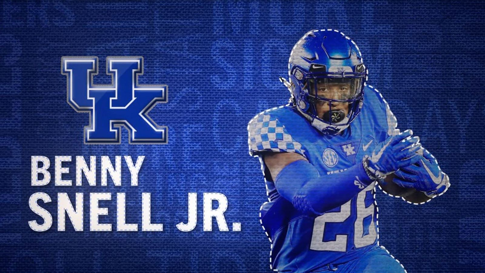 I am the SEC: Kentucky's Benny Snell Jr.