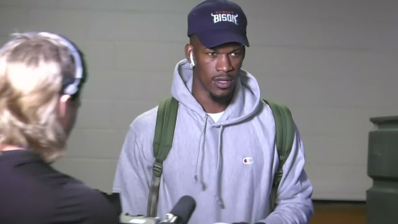 Butler arrives for first game with 76ers
