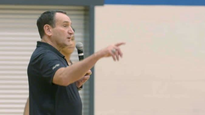 'Yo' a way for Coach K to get players' attention