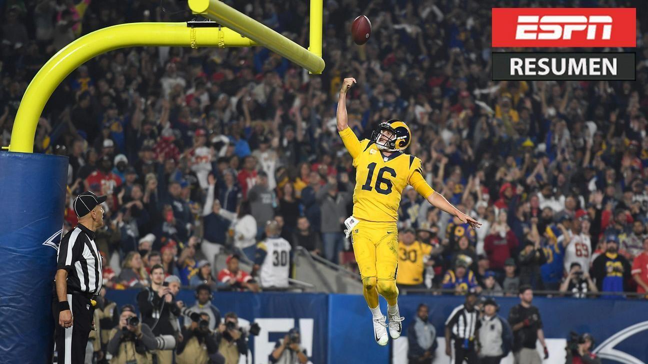 Increíble show en el Memorial Coliseum termina en victoria de los Rams