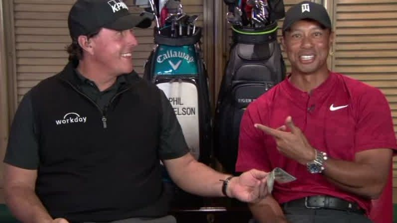 Phil, Tiger ready to bet on the course