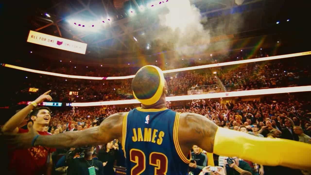 Cavs fans will always remember what LeBron did for Cleveland