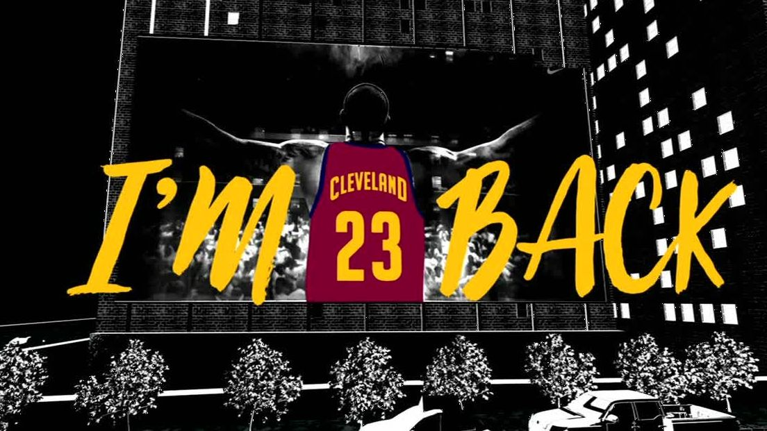 Michael B. Jordan examines the meaning behind LeBron's return to Cleveland