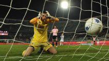 Em Palermo x Ascoli na Série B italiana, goleiro tem 'cãibra mental' e se candidata a pior gol contra de 2018