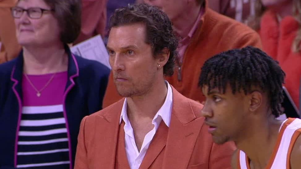 McConaughey coaches up Texas