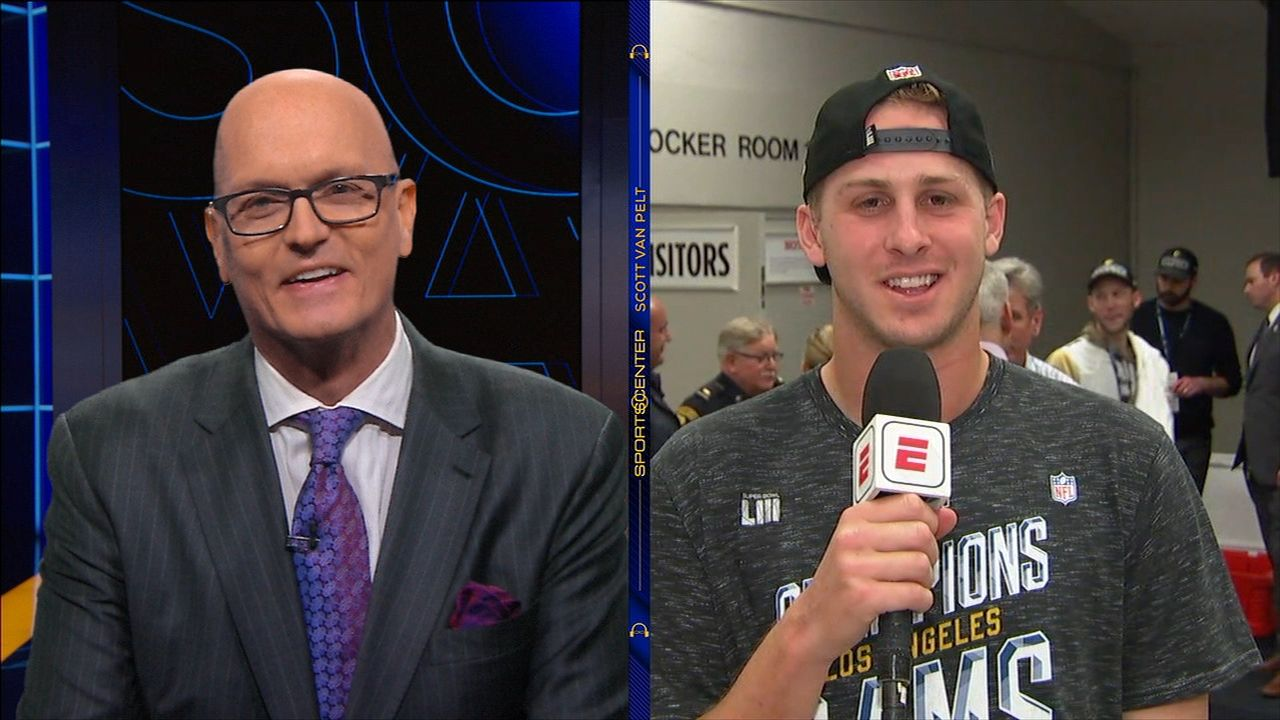 Goff: 'It's a dream come true' to be in Super Bowl
