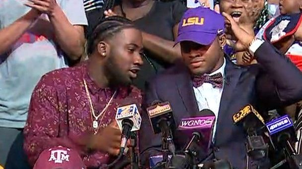 No. 34 WR Lee commits to LSU