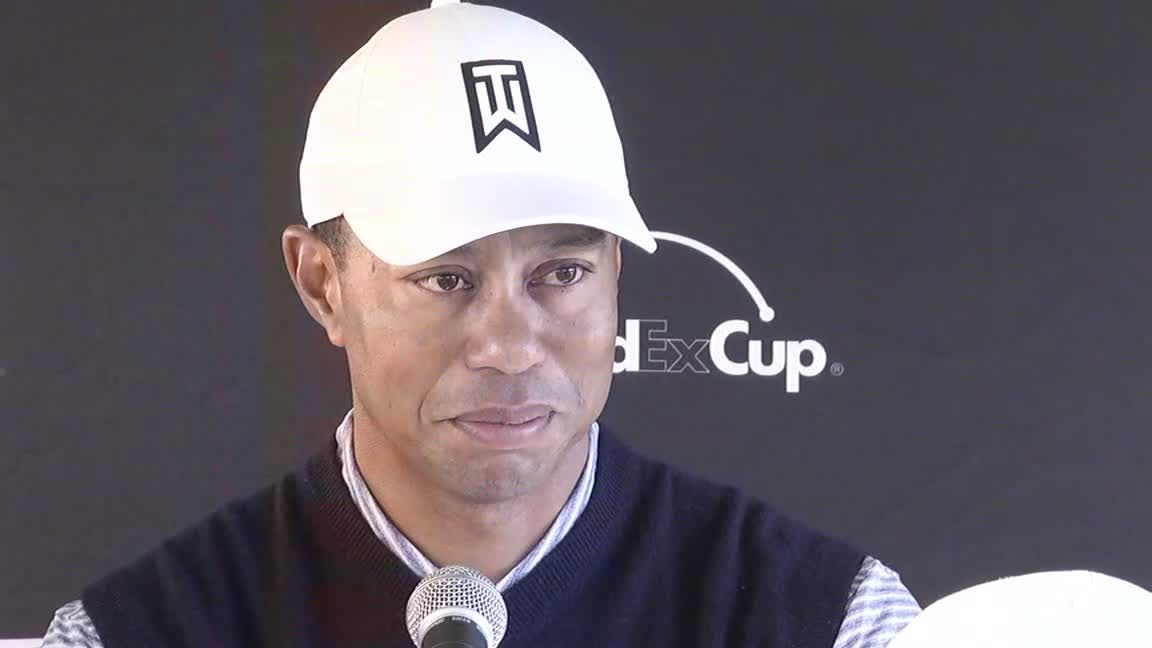Tiger happy to make cut at Genesis Open