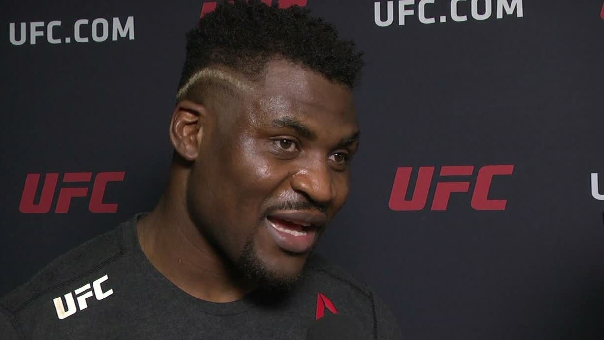 Ngannou wants a title shot after KO win