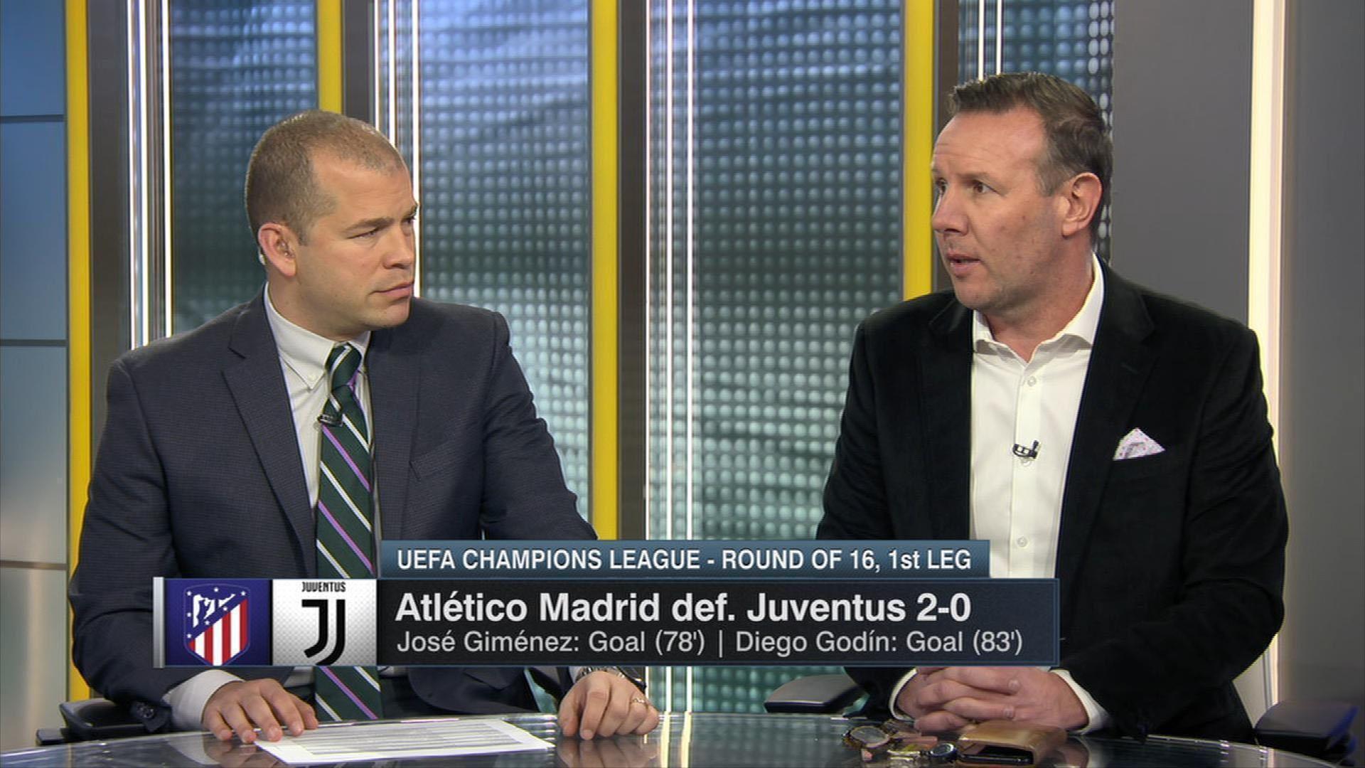 Atletico Madrid's high pressure 'rattled' Juventus