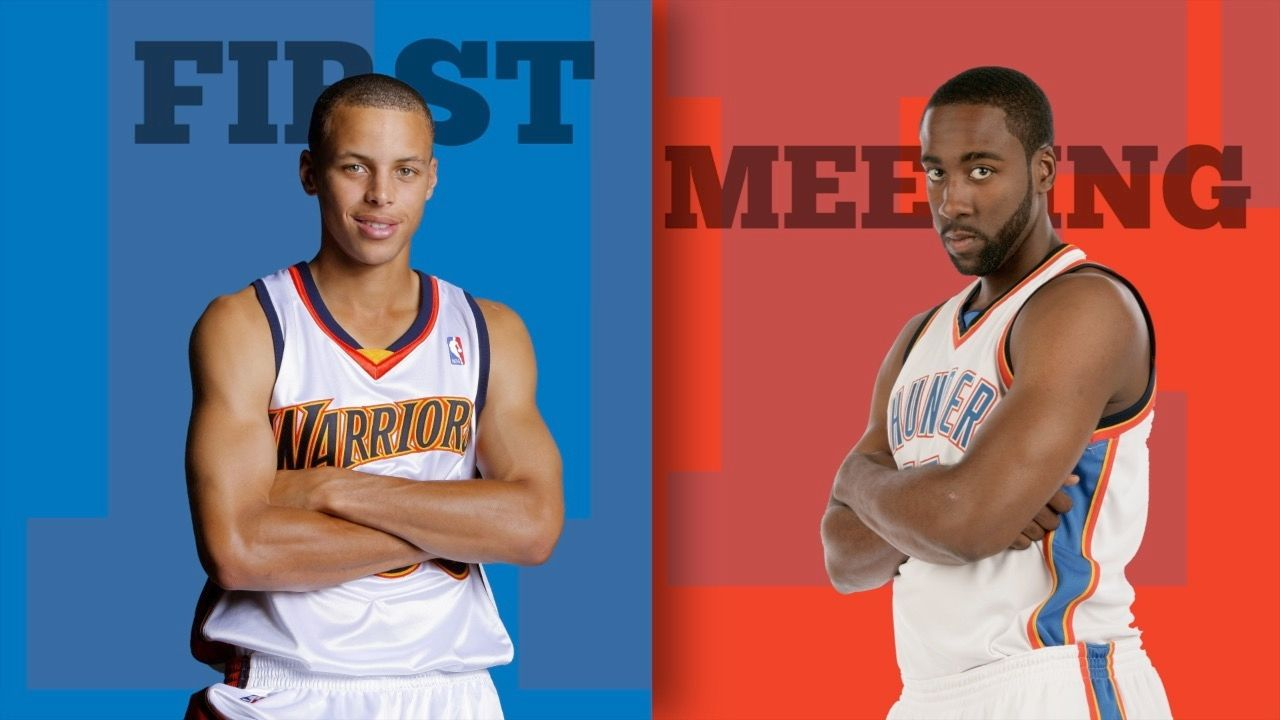 Harden vs. Curry: 10-year challenge