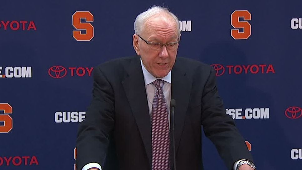 Boeheim delivers apology to Jimenez family after loss