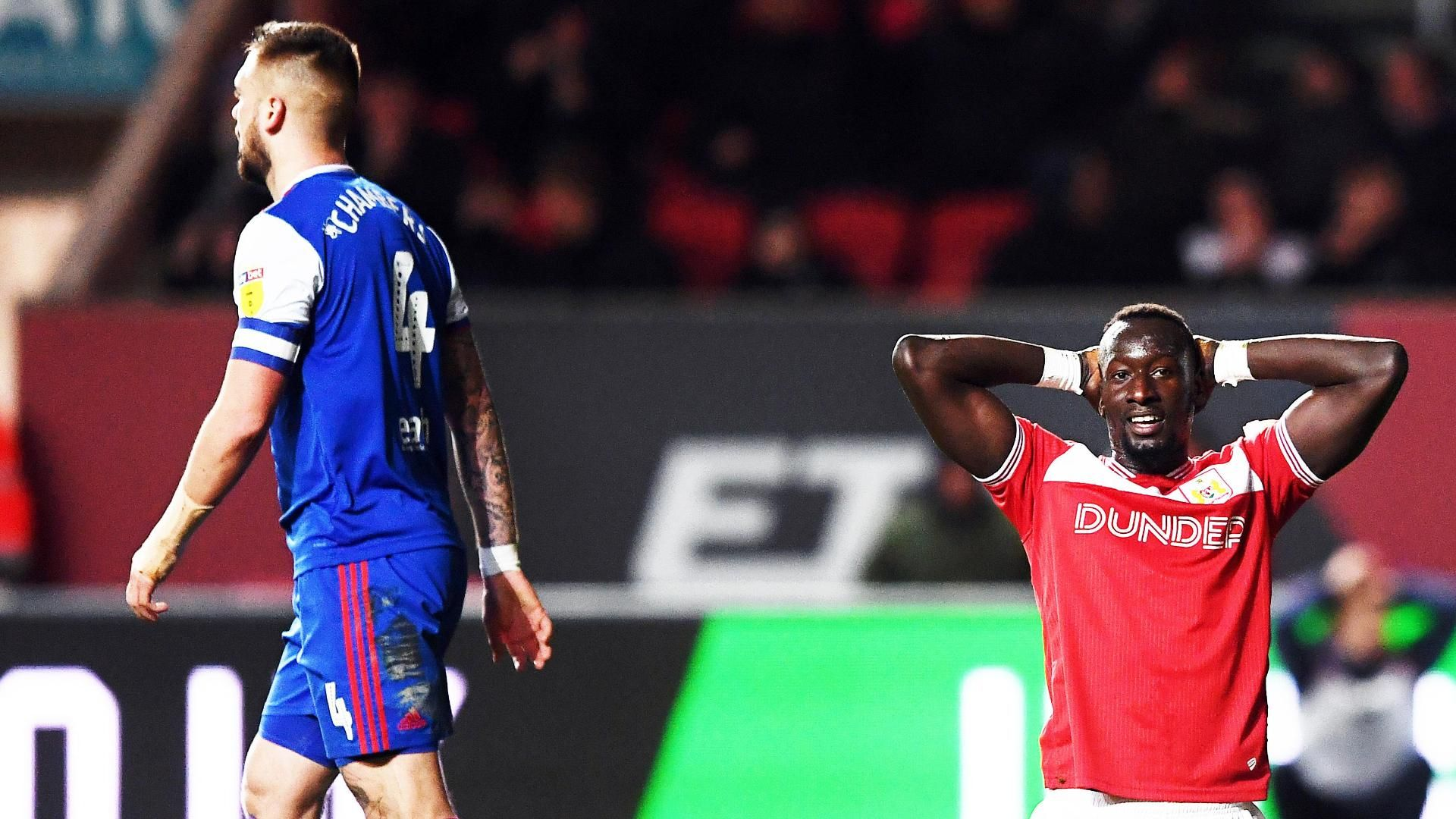 Bristol City drop vital points in playoff push