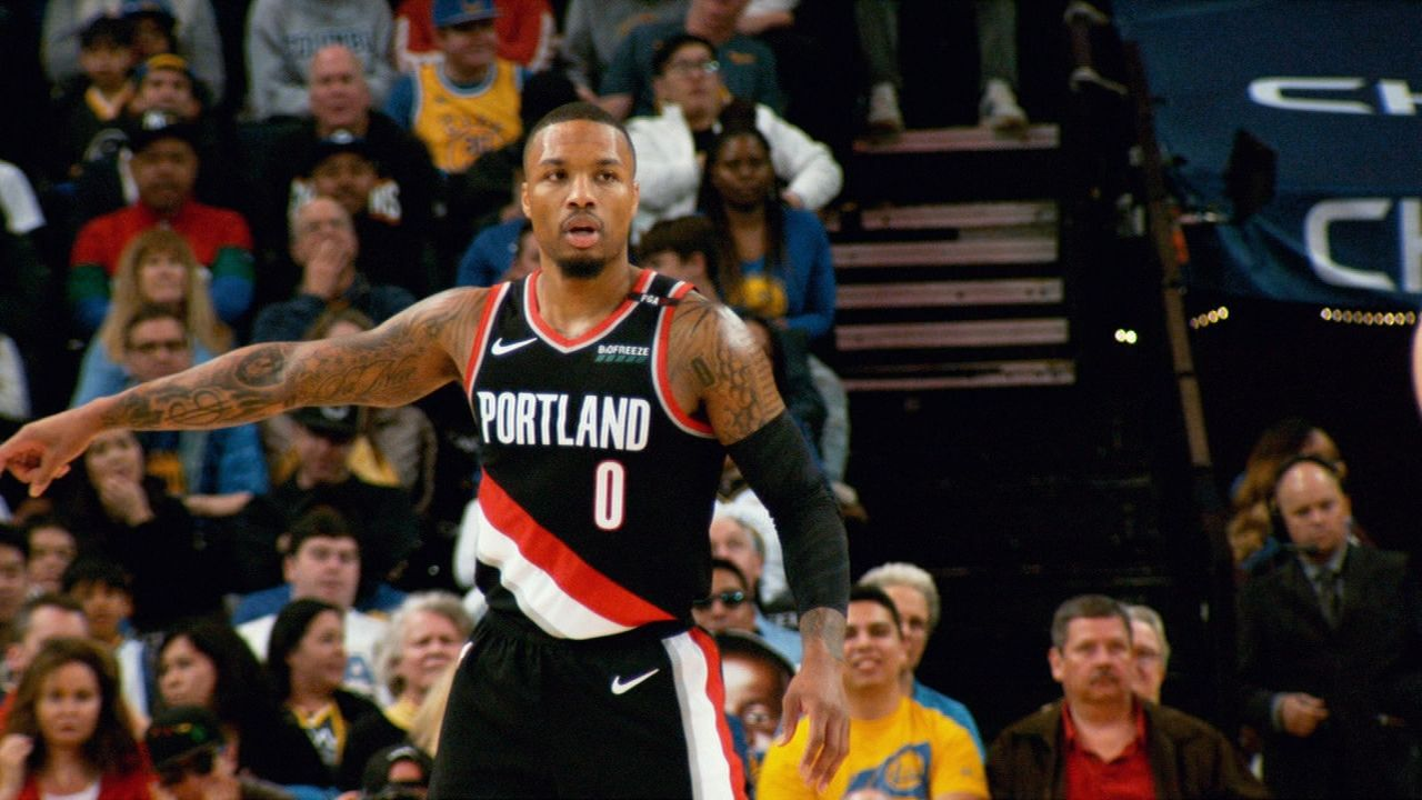 Lowe likes 'patience of Damian Lillard' in the NBA this week