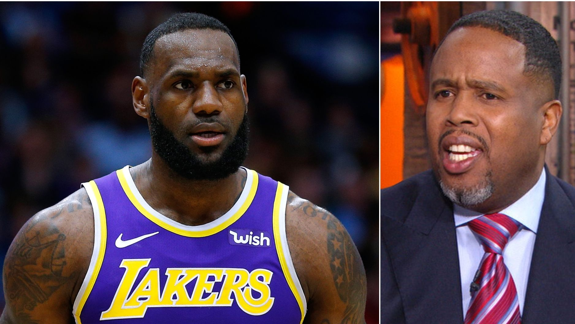 Jones calls out LeBron critics: 'Stop it'