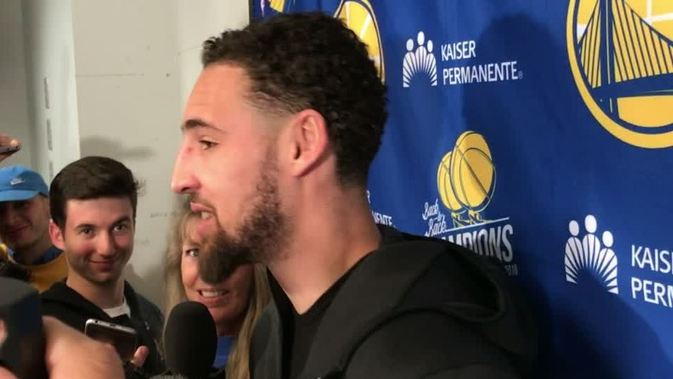 Klay: Spurs' defense did nothing, we missed shots