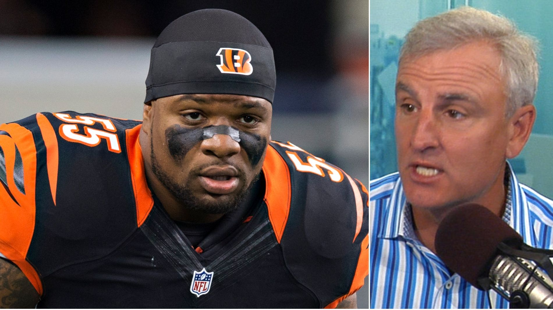 Wingo: Burfict is the least reliable player in the NFL