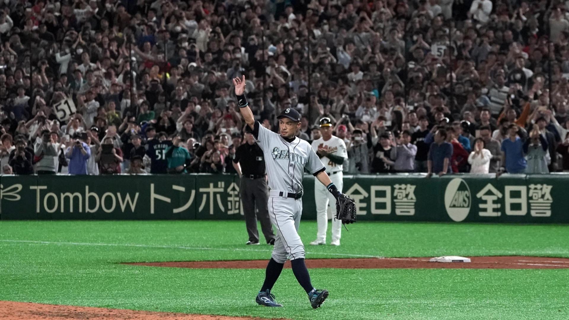 Em casa e ovacionado, Ichiro Suzuki se aposenta da MLB após dez All-Star Games e mais de três mil rebatidas