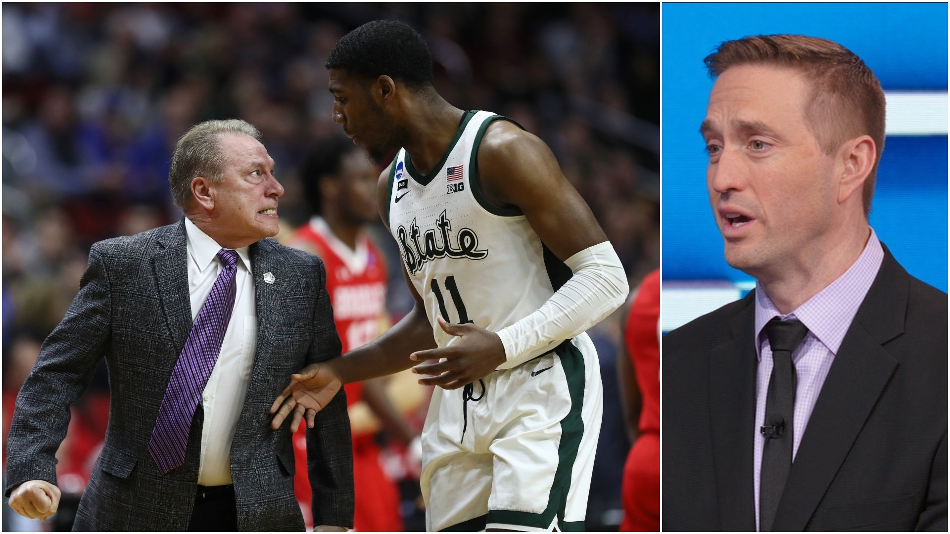 Farnham OK with Izzo showing frustration with players