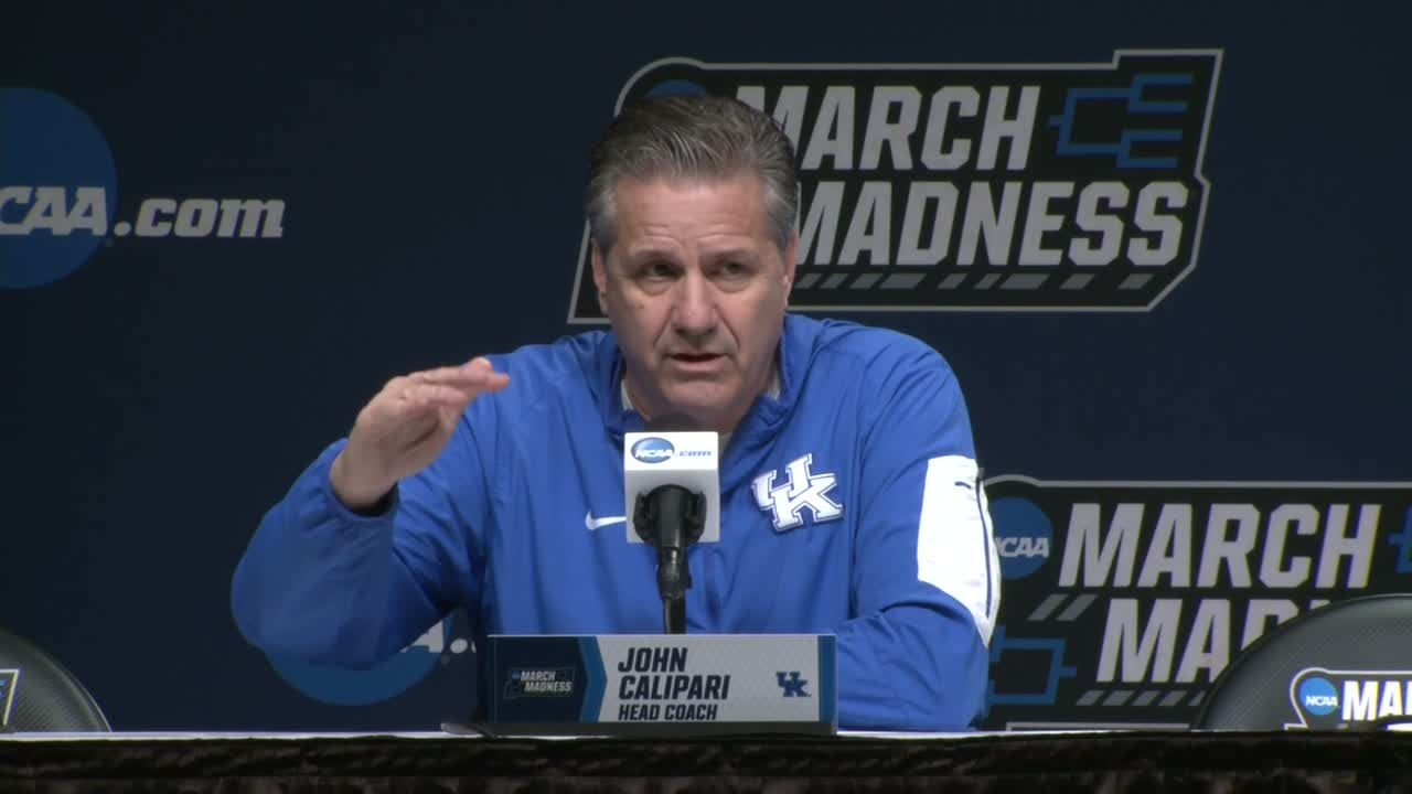 Calipari: This is one of the 'higher skilled teams' I've had