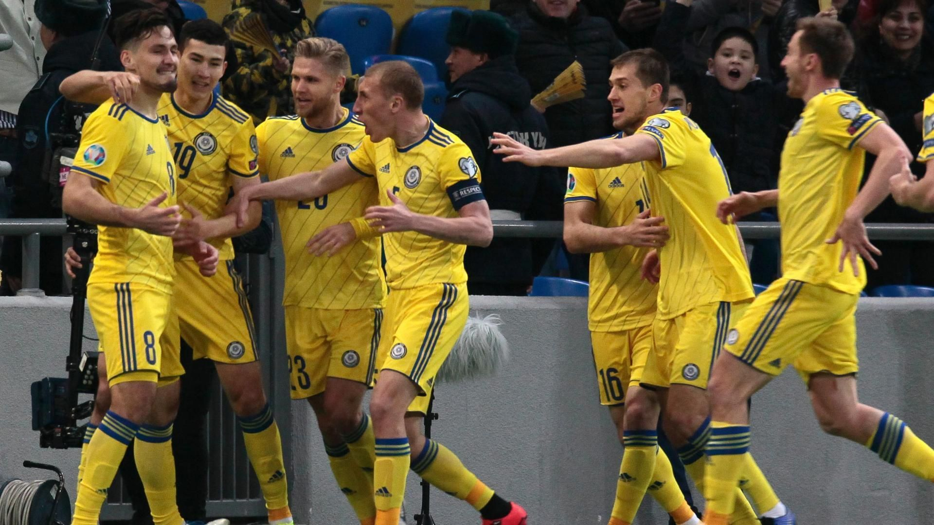 Pertsukh smashes Kazakhstan into early lead