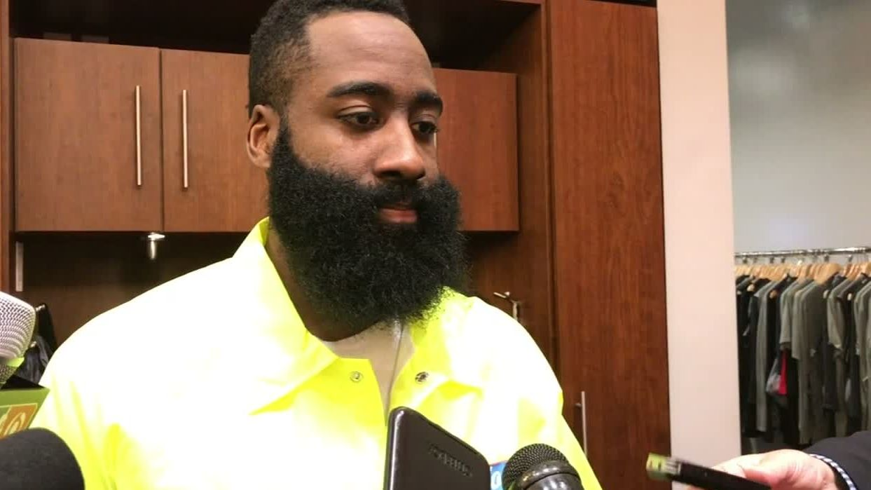 Harden's goal ahead of 61-point night was to be 'aggressive'
