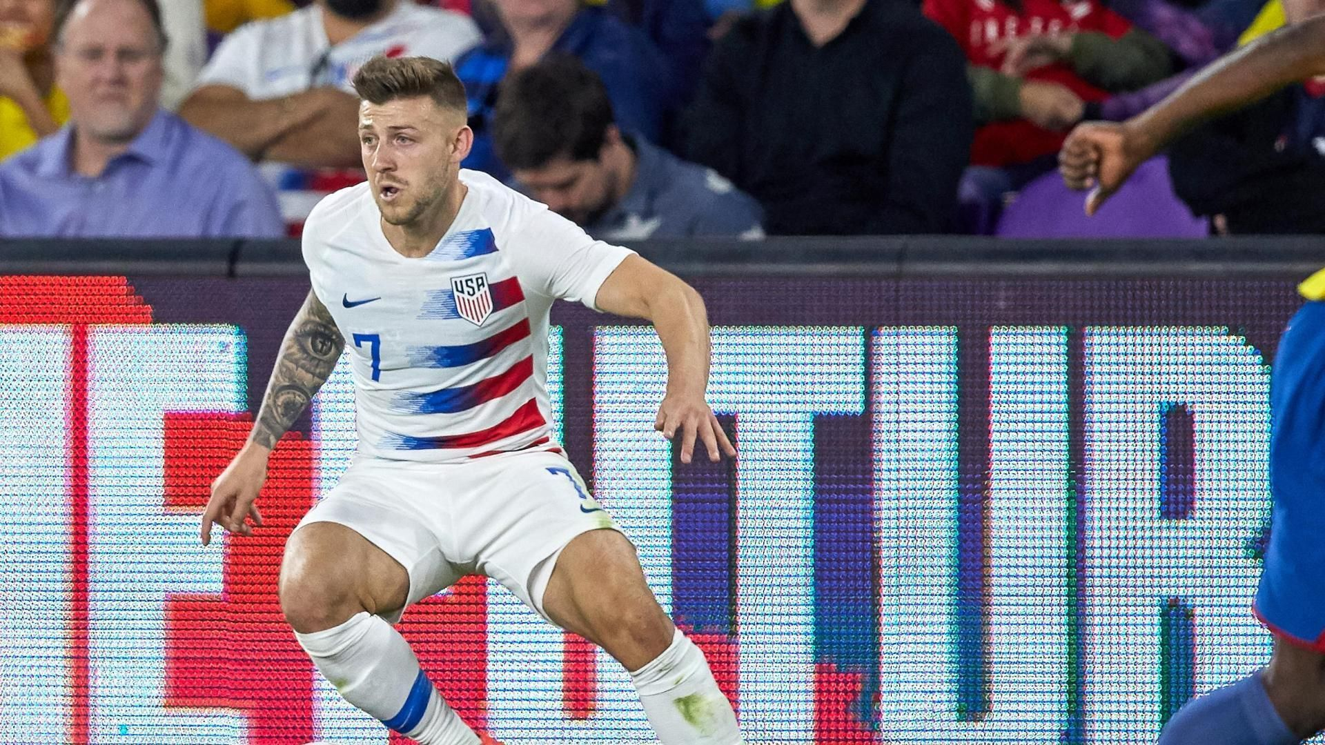 USMNT's Arriola denied from point-blank range