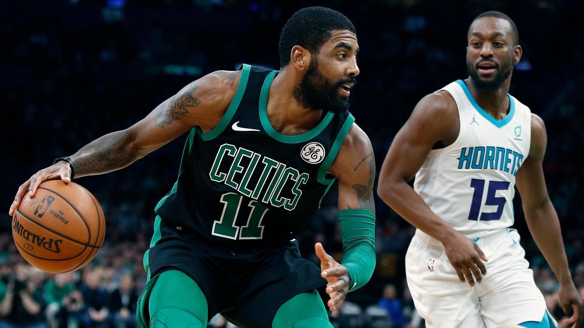 Kemba leads Hornets' comeback vs. Kyrie, Celtics