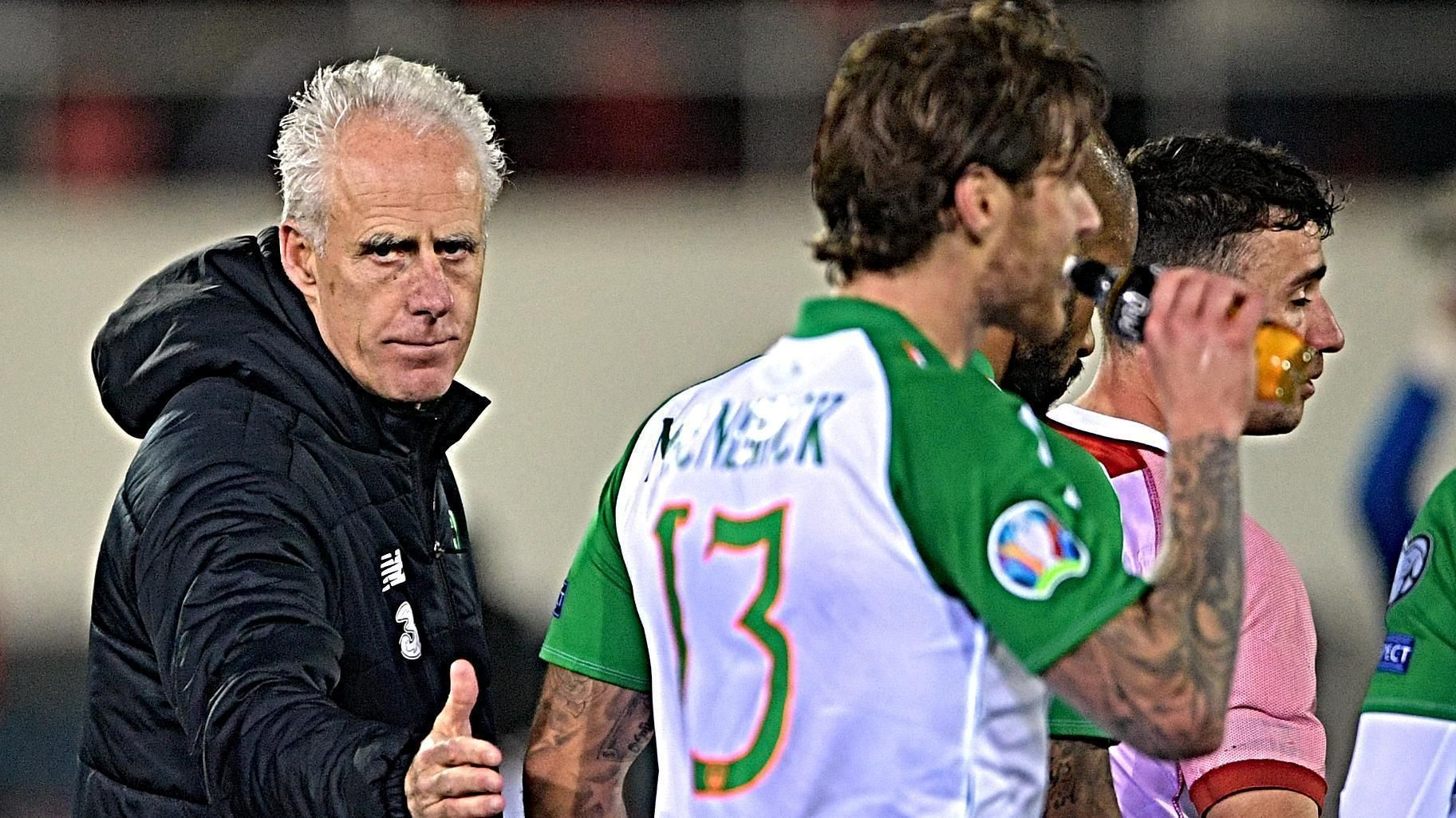 Mick McCarthy wins on Ireland return