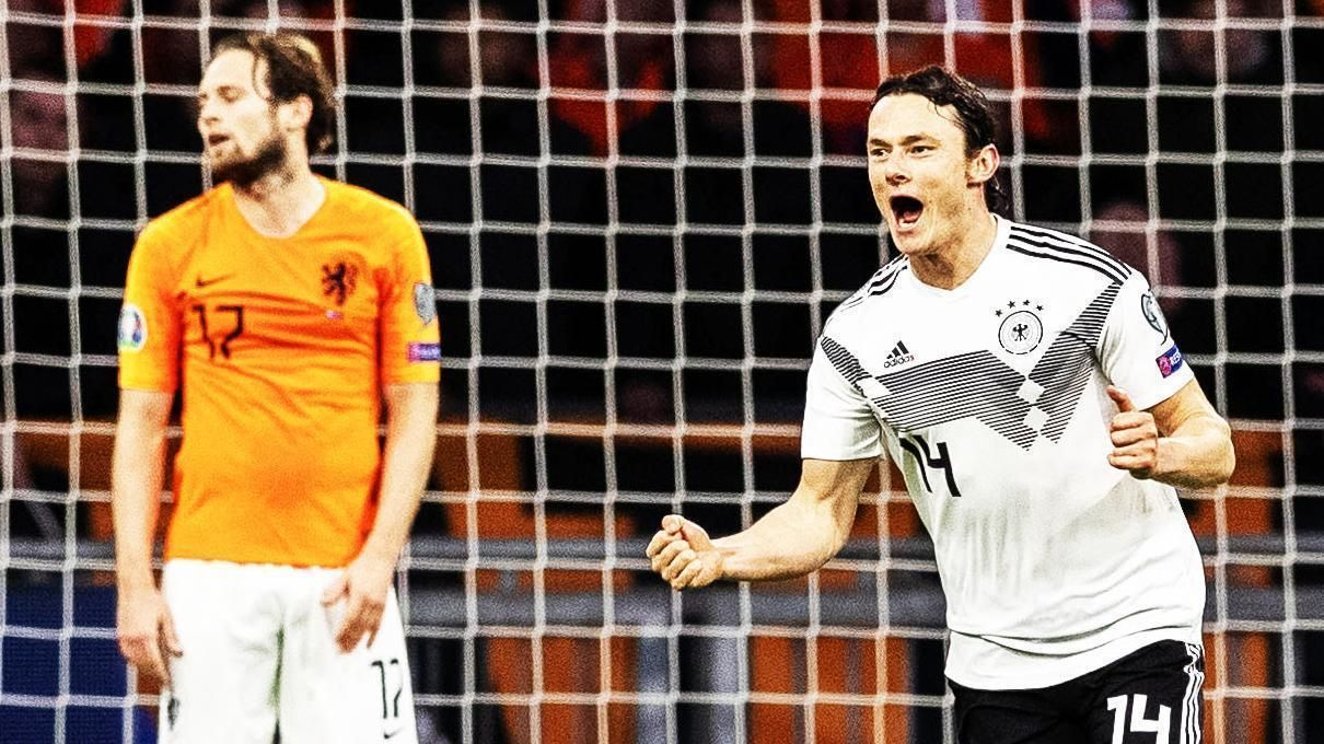 90th-minute winner rescues Germany in the Netherlands