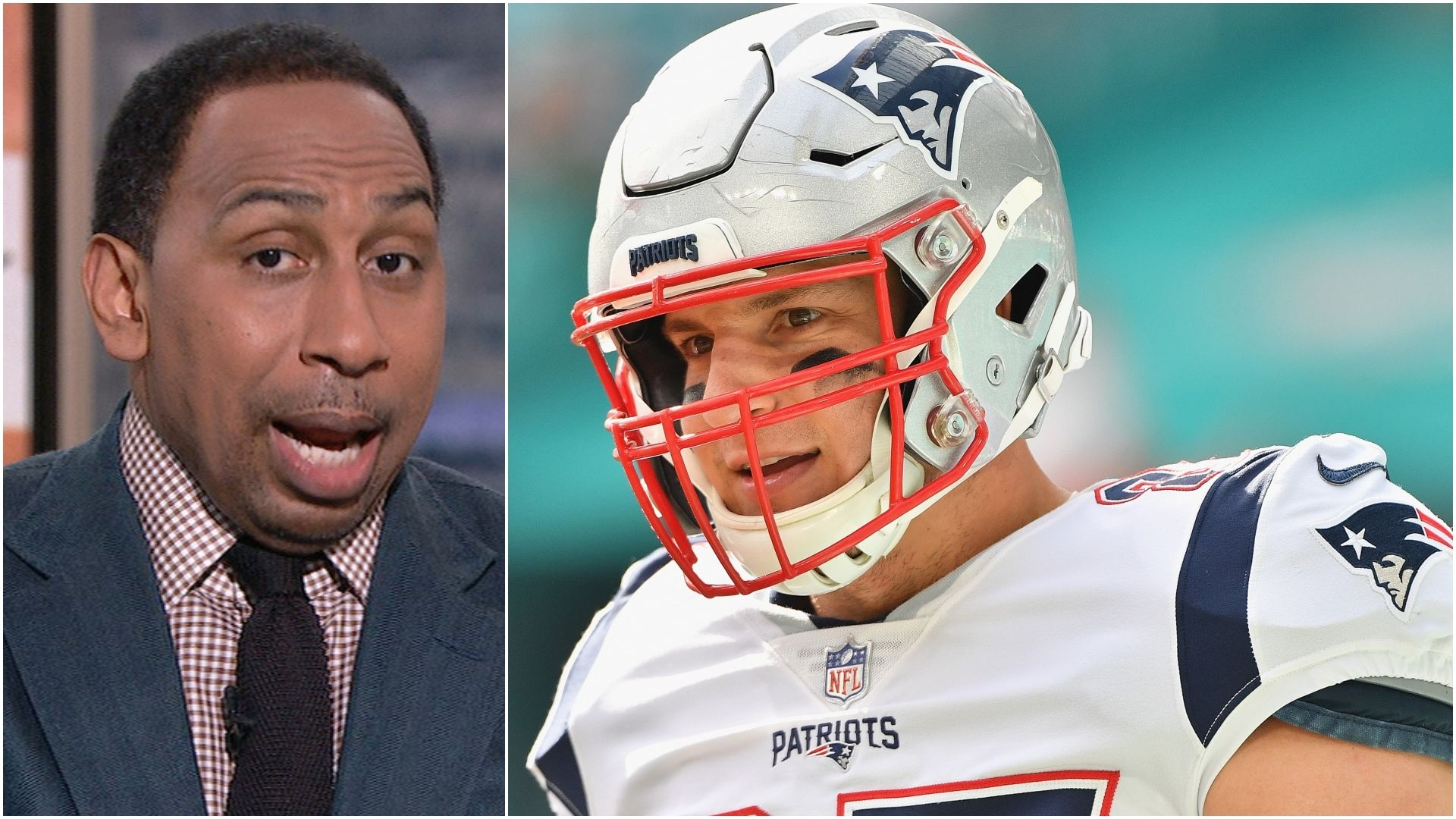Stephen A.: Gronk not the greatest TE of all time