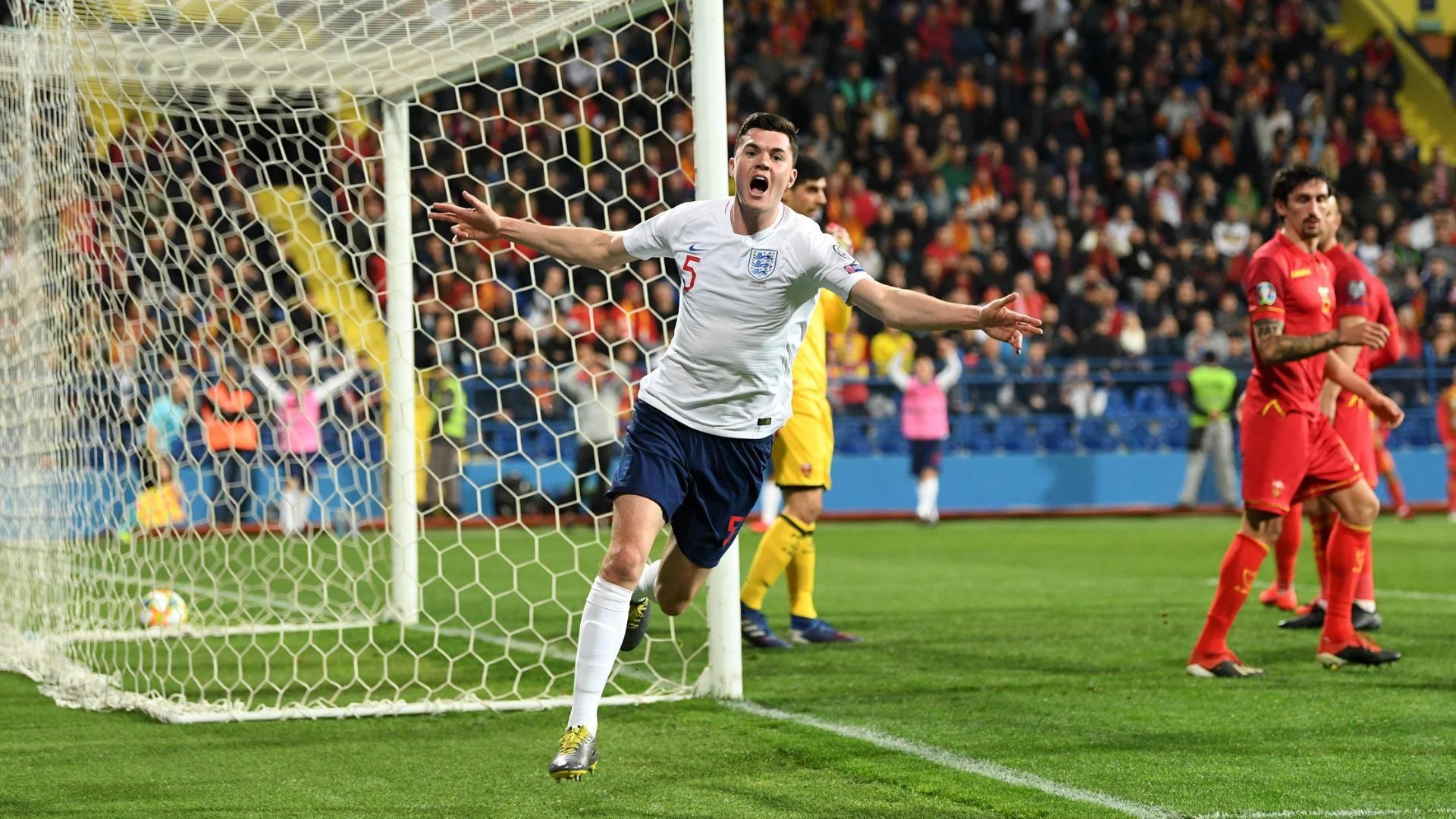¡GOL DE INGLATERRA! Keane puso el 1-1 ante Montenegro
