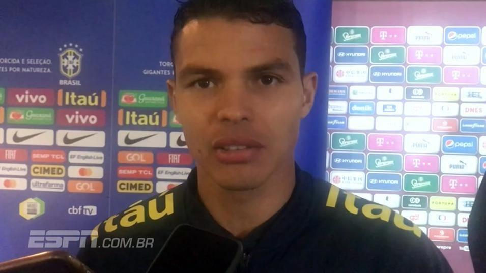Thiago Silva sente Tite mais reservado, mas destaca 'profissionalismo incrível' do técnico