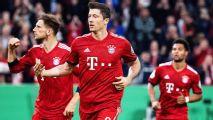10-man Bayern survive 9-goal thriller