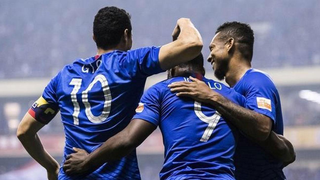 De penal, Guarín se anota en la lista de goleadores contra Beijing Renhe