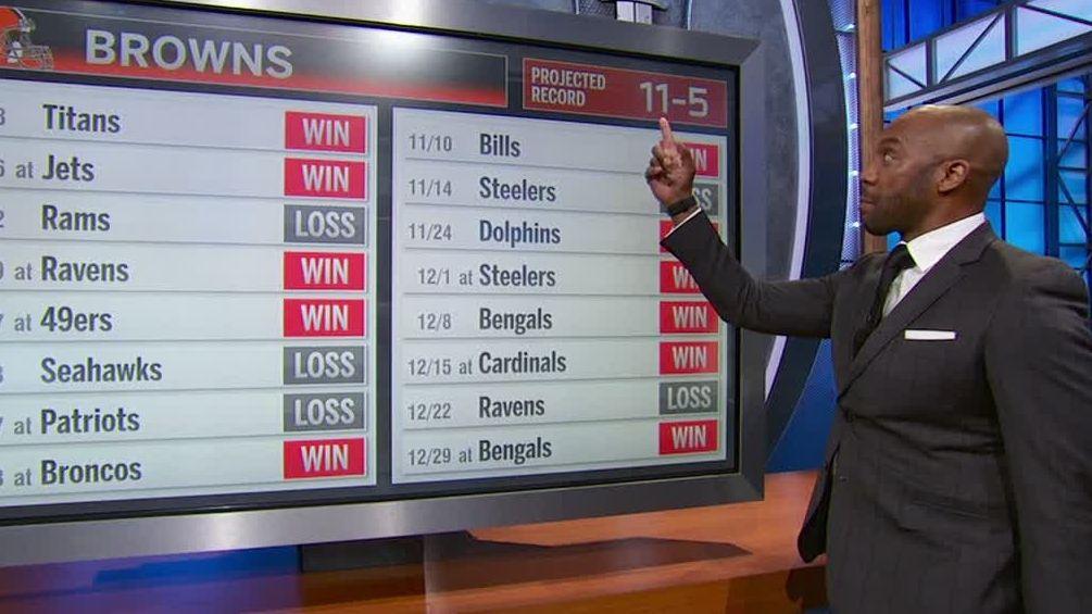 Riddick predicts 11-win season for Browns