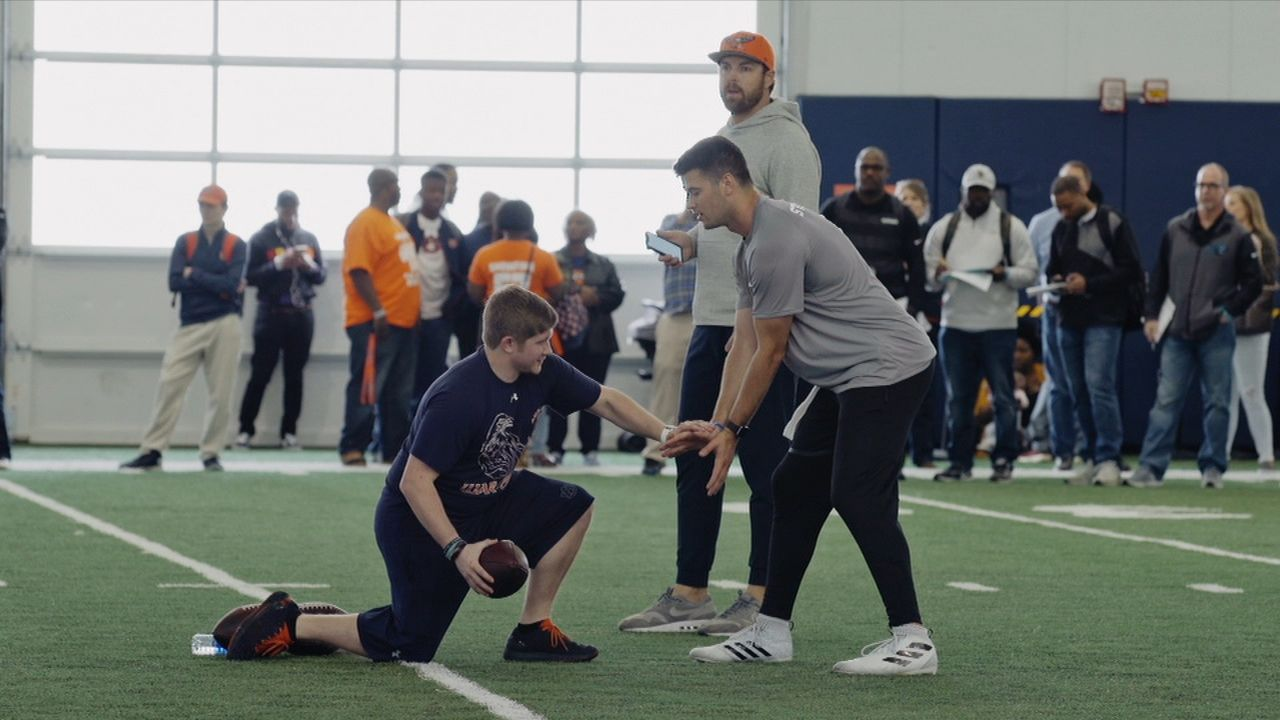 Stidham returns to Auburn for pro day