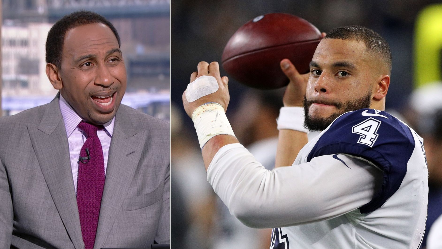 Stephen A. fired up over Max's low valuation of Prescott