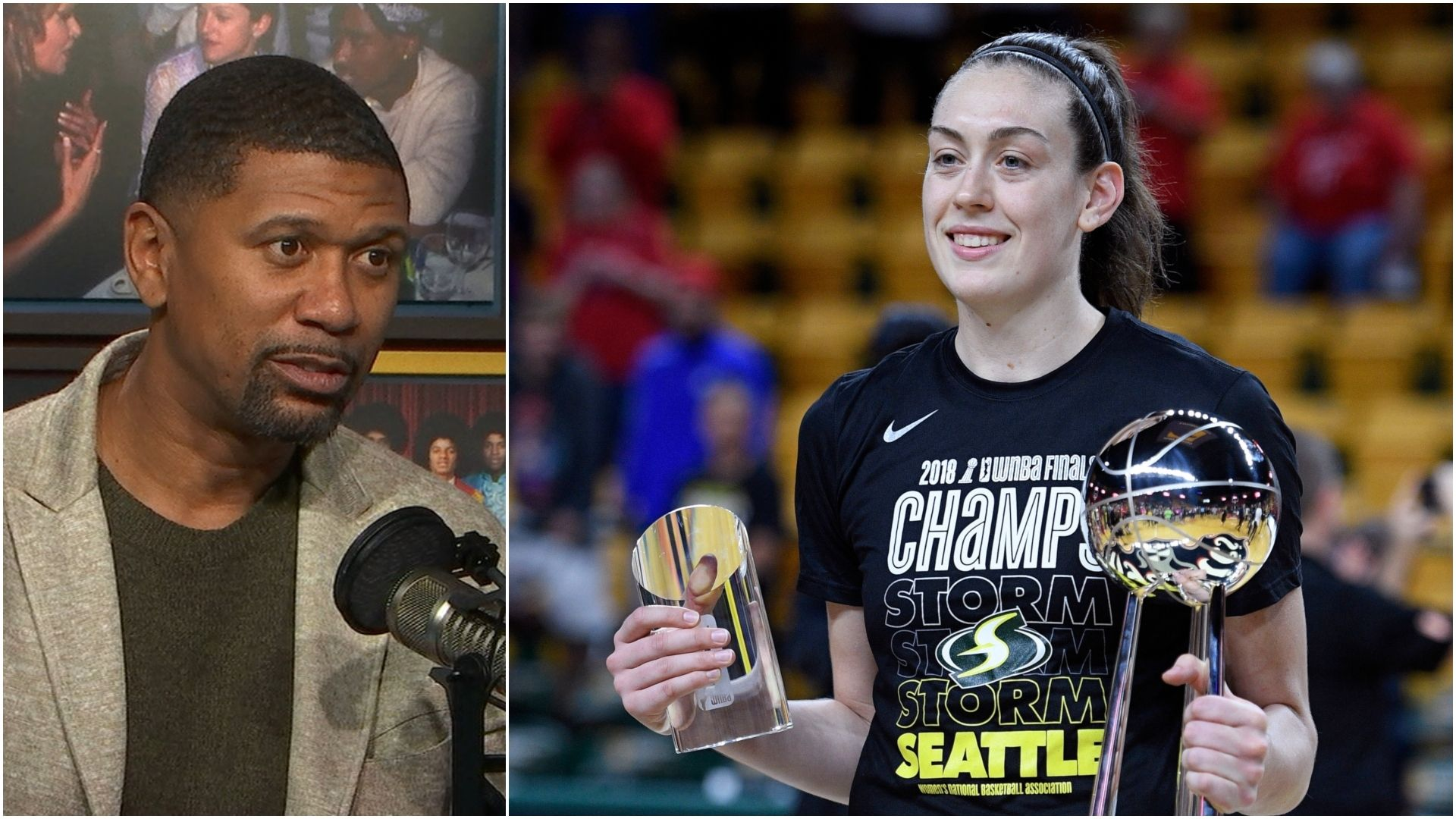 Jalen sounds off on WNBA pay