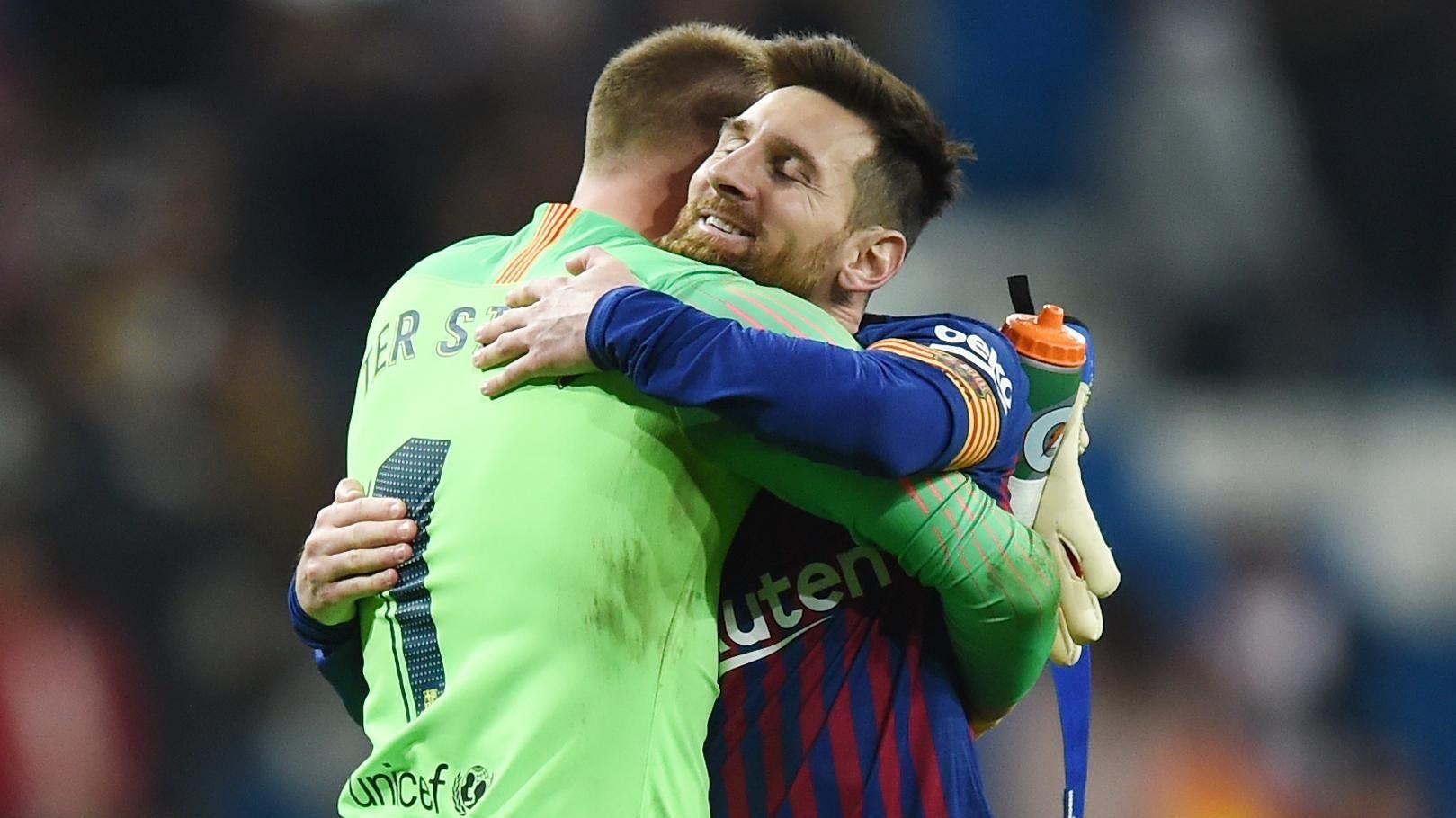 LA PRENSA A PURA RISA: ¿Qué dijo Ter Stegen sobre Lionel Messi?