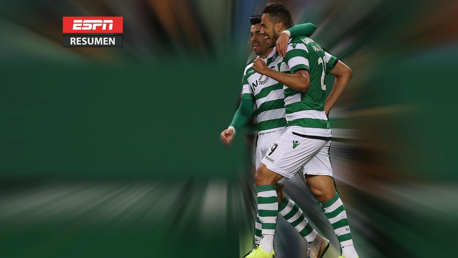 Sporting C.P. ganó y sueña con alcanzar al Benfica