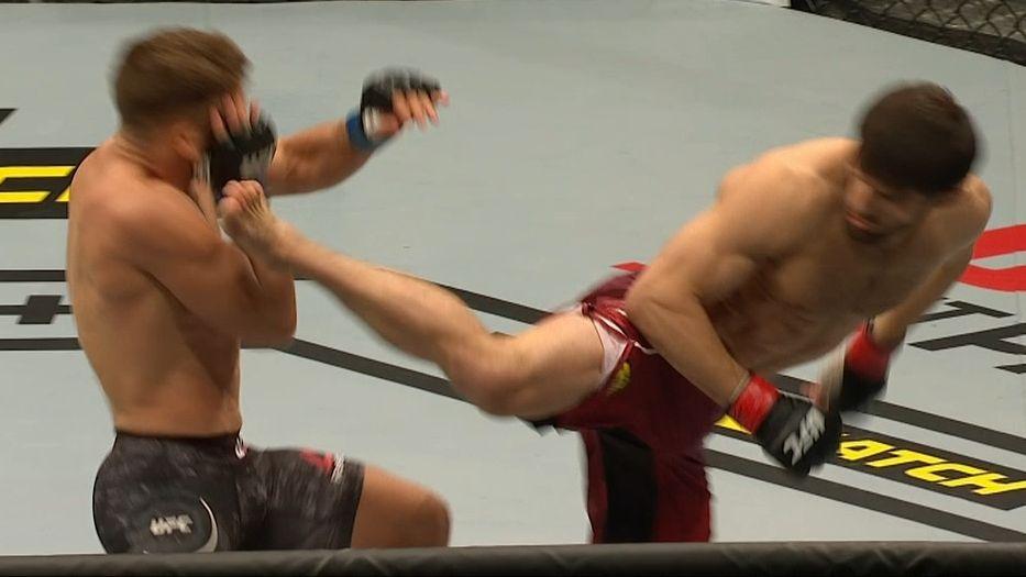 Mustafaev beats Fiziev via 1st-round TKO
