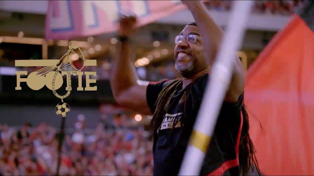 Atlanta United's black fan club