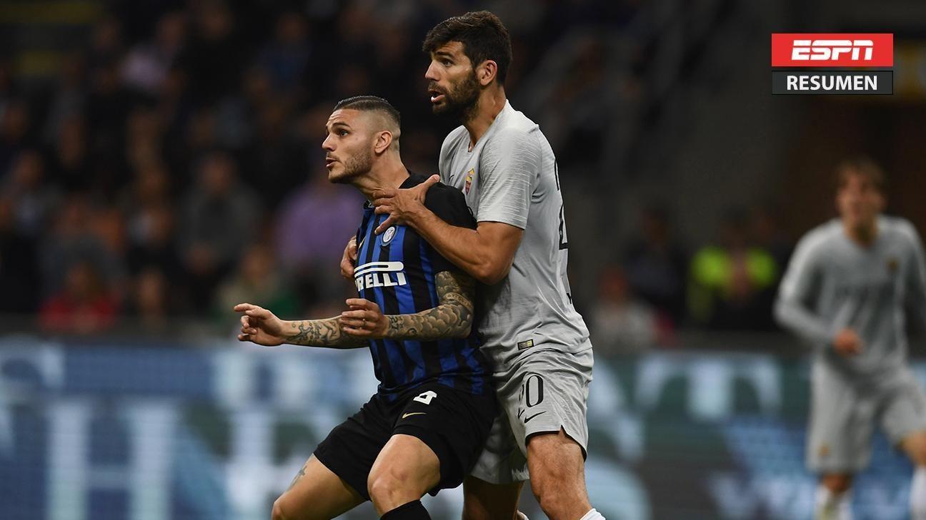 Inter y Roma igualaron 1-1