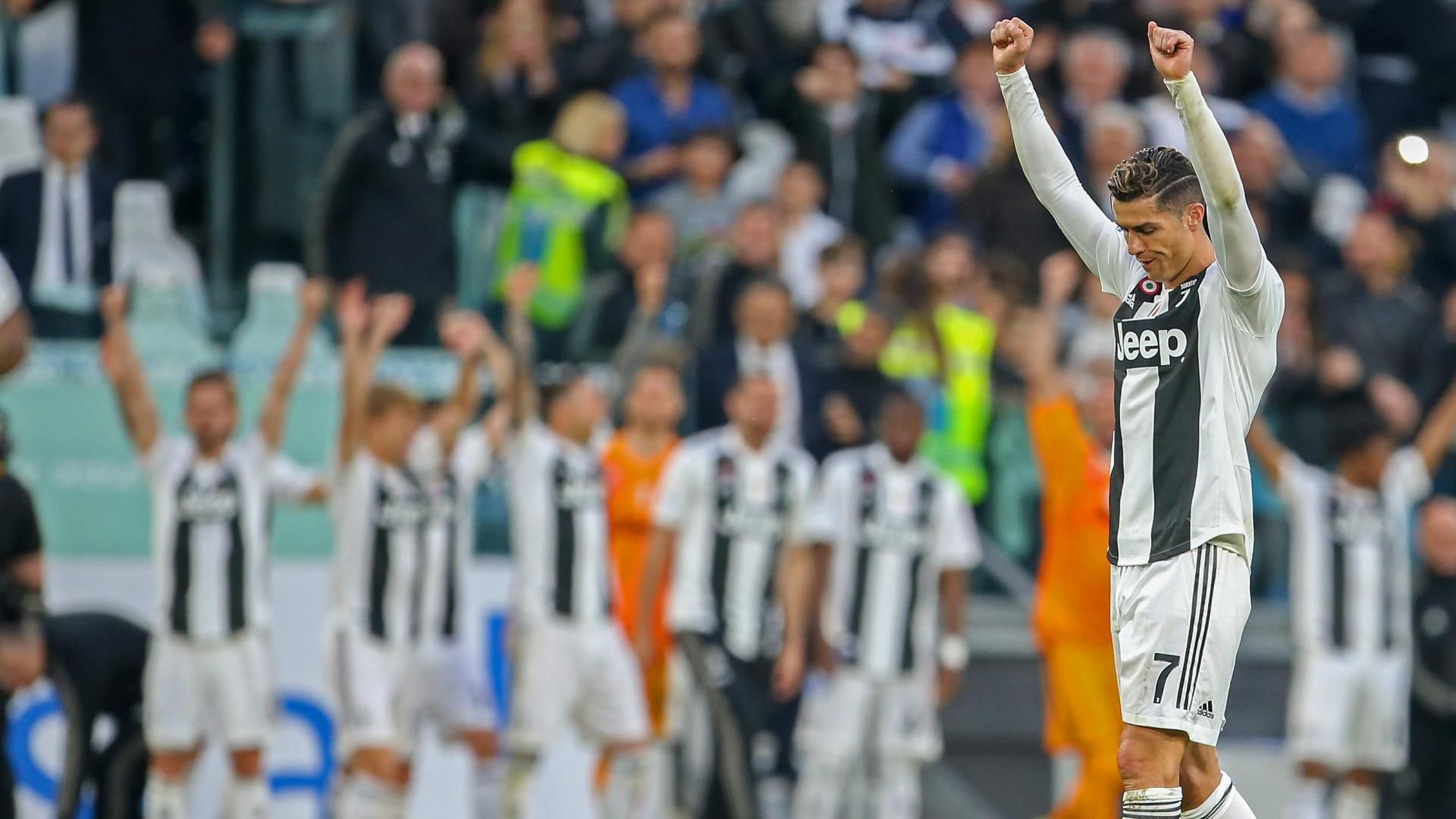 Juventus crowned Serie A champions for 8th straight season