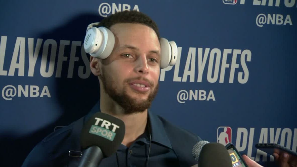 Steph on Klay in LA: 'The Pacific Ocean is undefeated'